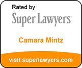 Rated by Super Lawyers badge for Camara Mintz