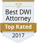 Best DWI Attorney, Top Rated 2017
